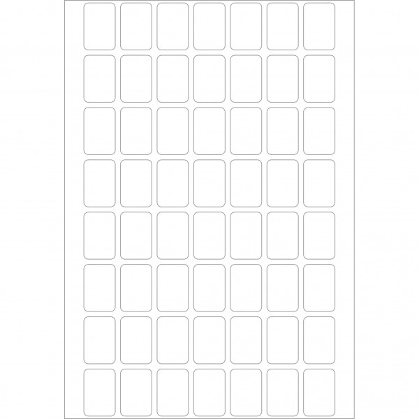 Herma Büropackung, weiß / farbig, 12 x 18 mm, 32 Blatt