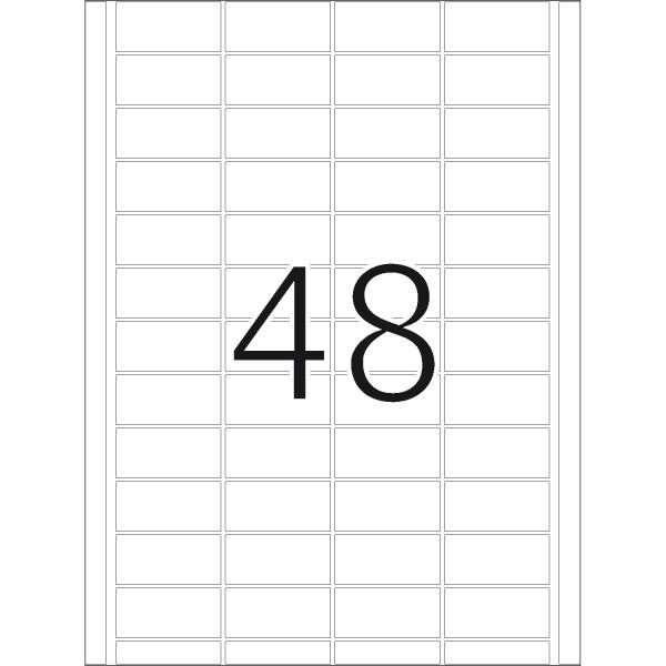 DP 4 Druckerpackung, weiß, 24 x 51 mm