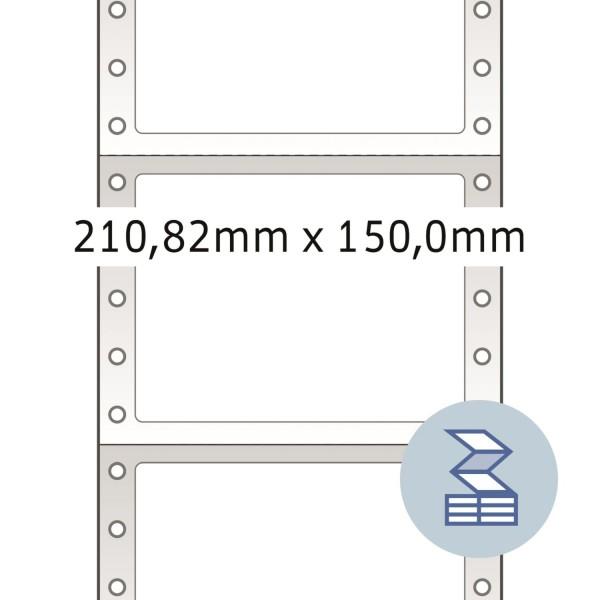 HERMA Lochrandetiketten, 210,82 x 150,0 mm, weiß