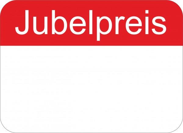 "Preisetikett, 22 x 16 mm, ""Jubelpreis"""