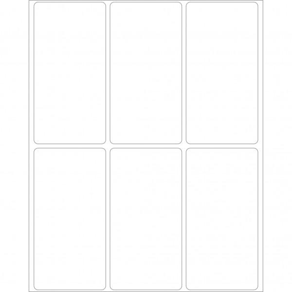 Herma Büropackung, weiß, 34 x 67 mm, permanent haftend