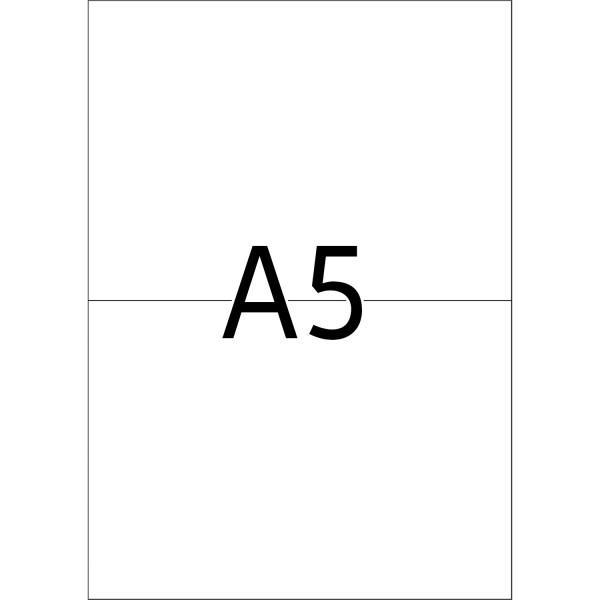HERMA Etiketten, A5 - 148,0 x 105,0 mm, 400 Blatt, weiß
