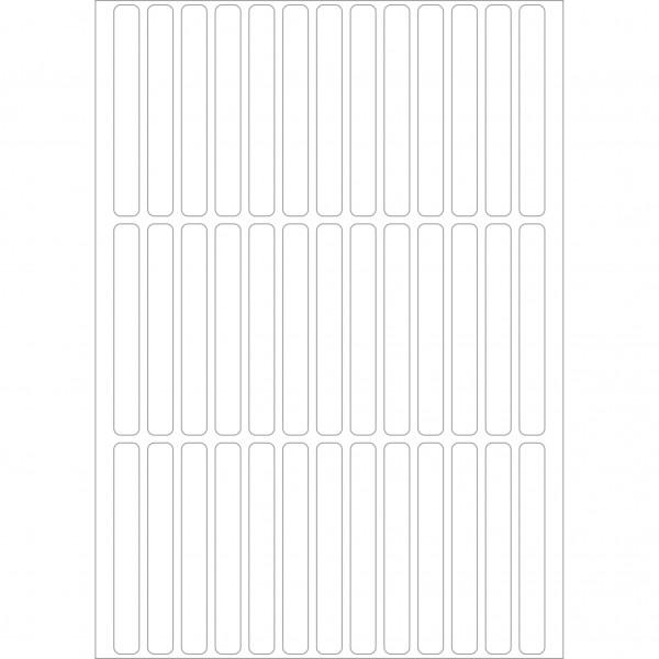 Herma Büropackung, weiß, 6 x 50 mm, permanent haftend