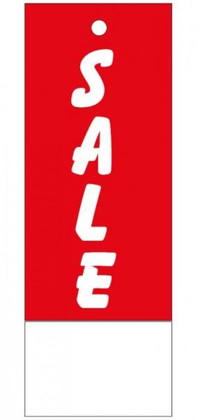 """Anhänge-Etikett, """"Sale"""", 28 x 78 mm, rot, mit Anlage"""