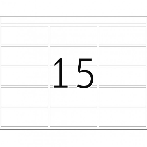 DP 1 Druckerpackung, versch. Farben, 20 x 50 mm