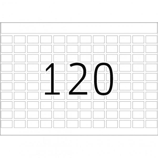 DP 1 Druckerpackung, weiß, 8 x 12 mm