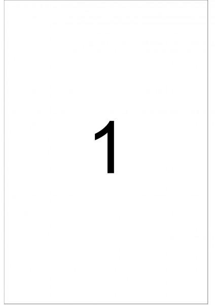 eza-print - A4,weiß - 203,0 x 297,0 mm, 100 Blatt