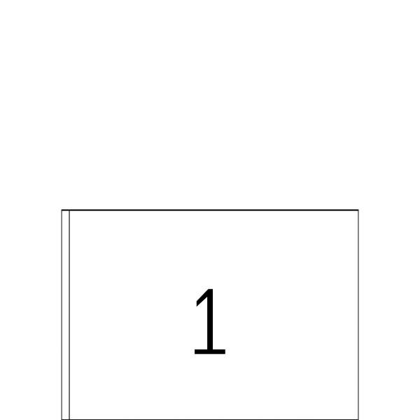 HERMA Etiketten, A5 - 148,5 x 205,0 mm, 400 Blatt, weiß