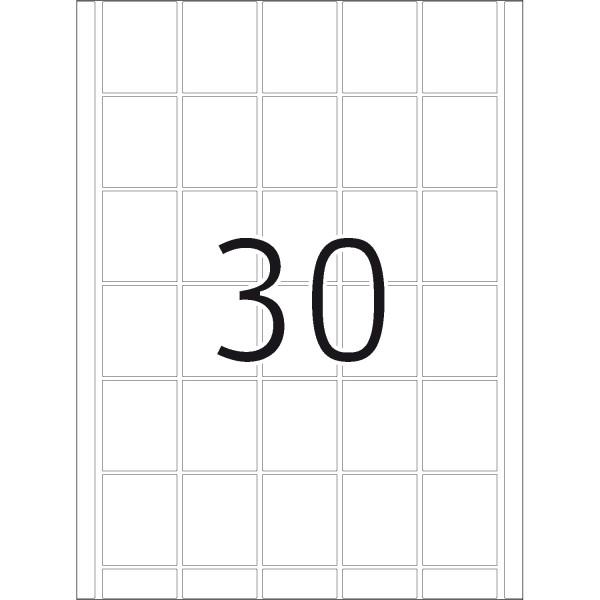 DP 4 Druckerpackung, weiß, 40 x 49 mm