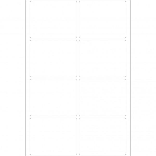 Herma Büropackung, weiß, 39 x 50 mm, permanent haftend