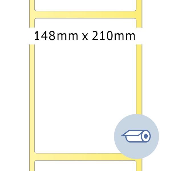 HERMA Rollen-Etiketten, Thermotransfer, 148,5 x 210 mm, weiß seidenmatt