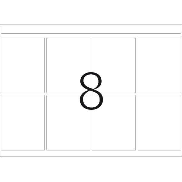 DP 1 Druckerpackung, weiß, 39 x 50 mm