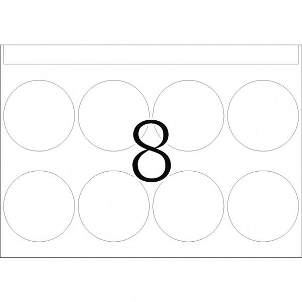 DP 1 Druckerpackung, weiß, 40 mm Ø