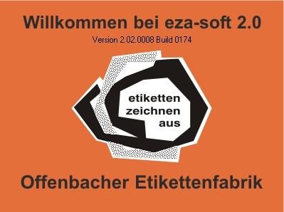 eza-soft 2.0 - Etikettensoftware - Downloadversion