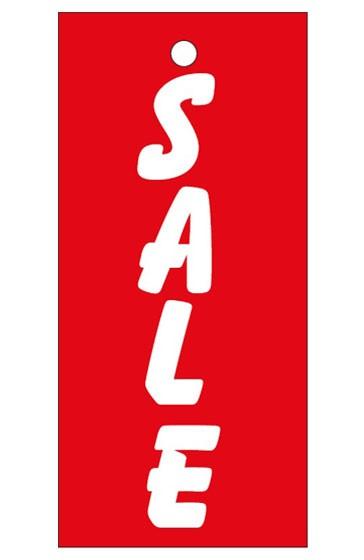 """Anhänge-Etikett, """"Sale"""", 28 x 60 mm, rot"""