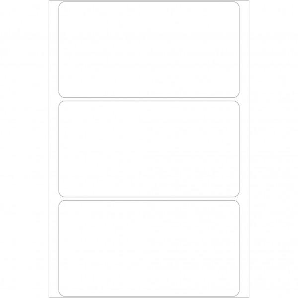 Herma Büropackung, weiß, 52 x 100 mm, permanent haftend
