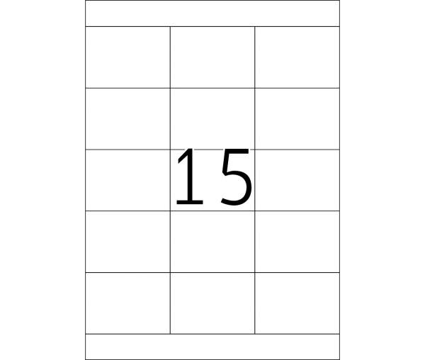 HERMA Etiketten, A4 - 70,0 x 50,8 mm, 200 Blatt, weiß