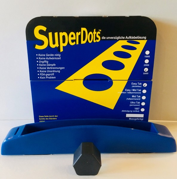 Super Dots Silikon Klebepunkte, Mid-Tak - halbpermanent