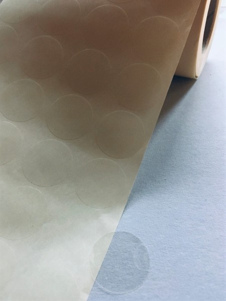 Haftpunkte einseitig klebend, 28 mm